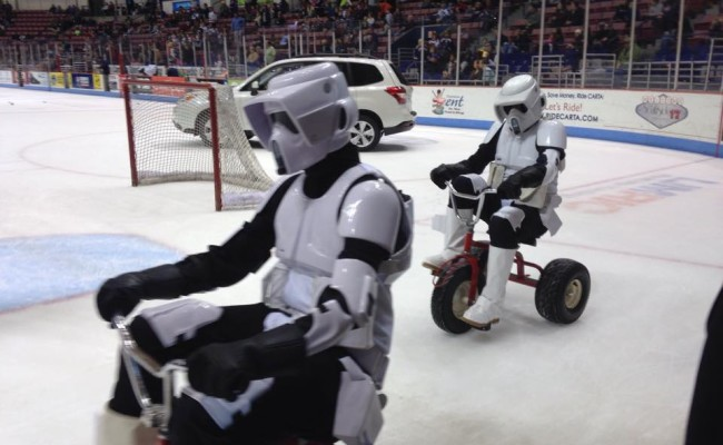 Jan. 25 – SC Stingrays Star Wars Night (Charleston, SC)