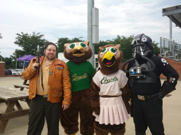 June 4 – Forest City Owls Star Wars Night (Forest City, NC)