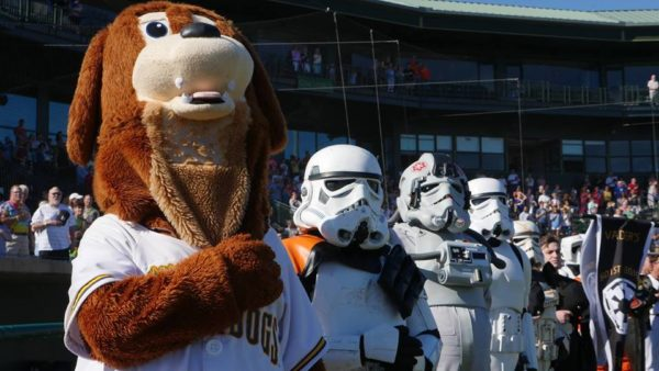 May 7 – Charleston Riverdogs Star Wars Night (Charleston, SC)
