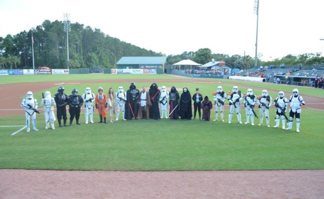 June 3 – Myrtle Beach Pelicans Star Wars Night (Myrtle Beach, SC)