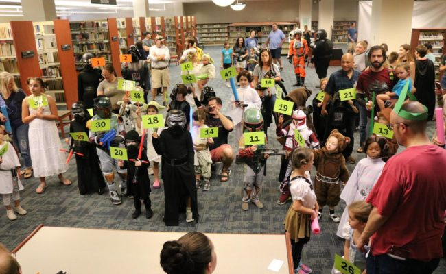 Oct. 7 – Star Wars Reads Day (Charleston, SC)